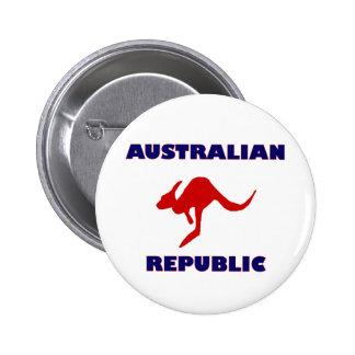 Australian Republic 2 Inch Round Button