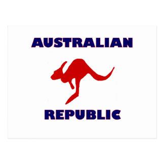 Australian Republic Postcard