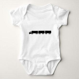 australian road train truck baby bodysuit