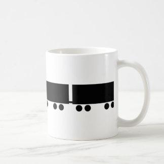 australian road train truck coffee mug