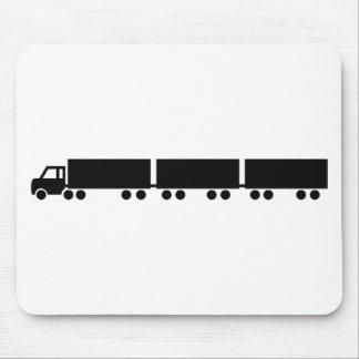 australian road train truck mouse pad