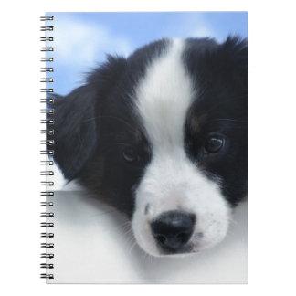 Australian Sheepdog Puppy Notebook