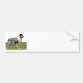 Australian Shepherd 9K7D-20 Car Bumper Sticker