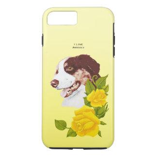 Australian Shepherd and Yellow Roses 7 Tough iPhone 7 Plus Case