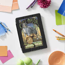 Australian Shepherd Art Nouveau Canis Major iPad Pro Cover