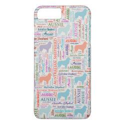 Case-Mate Tough iPhone 7 Plus Case with Australian Shepherd Phone Cases design