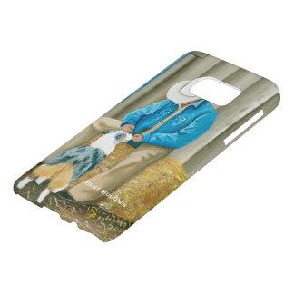 "Australian Shepherd ""Best Buddies"" Galaxy 7S Samsung Galaxy S7 Case"