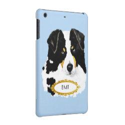 Case Savvy Glossy Finish iPad Mini Retina Case with Australian Shepherd Phone Cases design