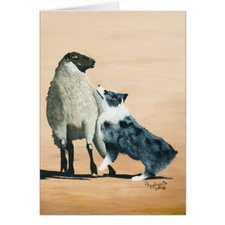 Australian Shepherd Blank Notecard Stationery Note Card