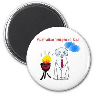 Australian Shepherd Blue Dad Magnet