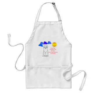 Australian Shepherd Blue Every Day Is A Good Day Adult Apron