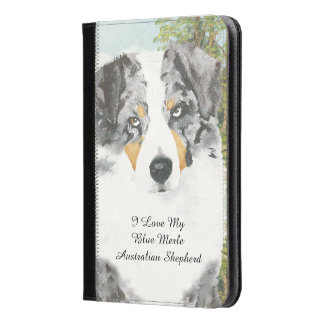 Australian Shepherd Blue Merle Dog