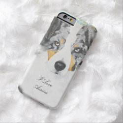 Case-Mate Barely There iPhone 6 Case with Australian Shepherd Phone Cases design