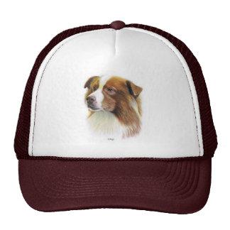 Australian Shepherd Cap Trucker Hat