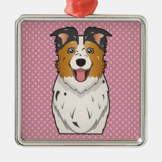 Australian Shepherd Cartoon Ornaments