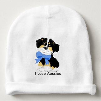 Australian Shepherd Cartoon Puppy Baby Beanie