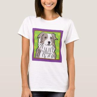 Australian Shepherd Cartoon T-Shirt