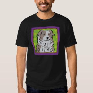 Australian Shepherd Cartoon T Shirt