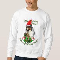 Australian Shepherd Christmas Gifts Sweatshirt