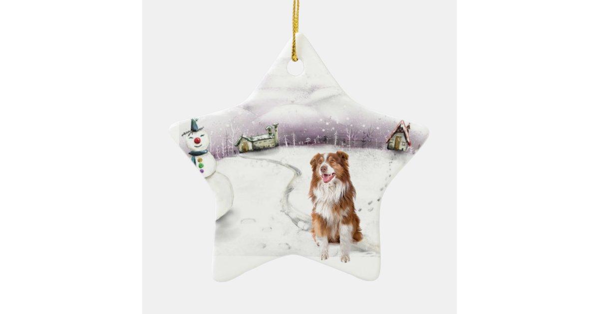 Australian Shepherd Christmas Ornament.Australian Shepherd Christmas Ornament Zazzle Com
