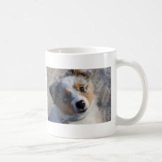 Australian Shepherd Classic White Coffee Mug