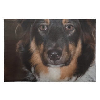 Australian Shepherd Cloth Placemat