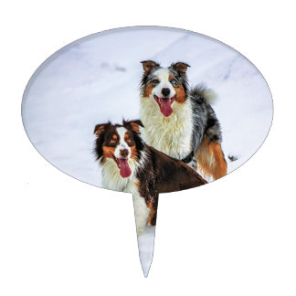 cartoon wedding cake toppers australia australian shepherd cake toppers zazzle 12422