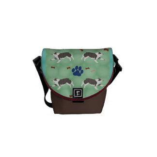 Australian Shepherd Courier Bag