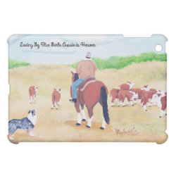 Case Savvy iPad Mini Glossy Finish Case with Australian Cattle Dog Phone Cases design