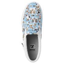 Australian Shepherd Custom SlipOn Shoes