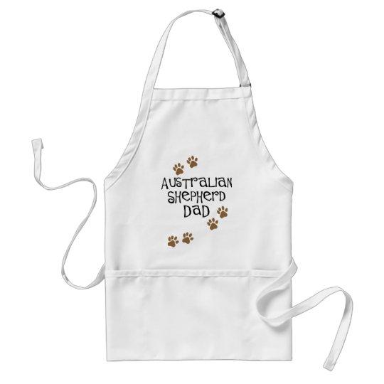 Australian Shepherd Dad Adult Apron