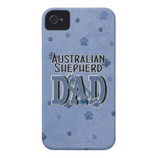 Australian Shepherd DAD iPhone 4 Case-Mate Cases