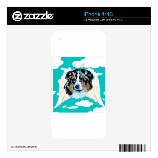 AUSTRALIAN SHEPHERD DECAL FOR iPhone 4S