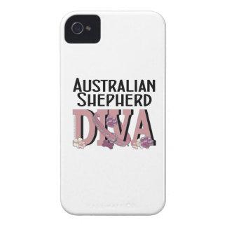 Australian Shepherd DIVA iPhone 4 Case-Mate Cases