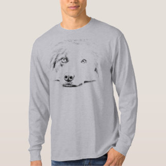 Australian Shepherd dog art T-Shirt