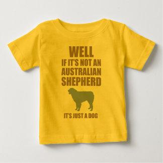 Australian Shepherd Dog Baby T-Shirt