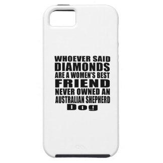 AUSTRALIAN SHEPHERD DOG BEST FRIEND DESIGNS iPhone SE/5/5s CASE
