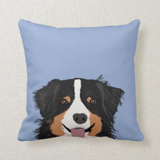 Australian Shepherd dog breed gifts for home Throw Pillow