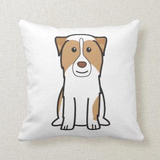 Australian Shepherd Dog Cartoon Pillows