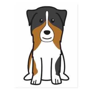 Australian Shepherd Dog Cartoon Postcard
