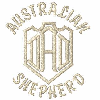 Australian Shepherd Dog Dad Polo Shirt
