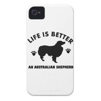 Australian Shepherd dog design iPhone 4 Cover