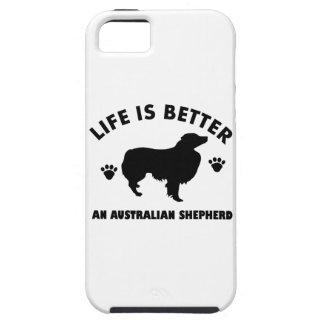 Australian Shepherd dog design iPhone SE/5/5s Case