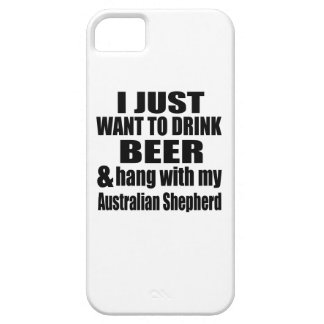 Australian Shepherd Dog Designs iPhone SE/5/5s Case
