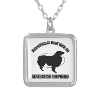 AUSTRALIAN SHEPHERD DOG DESIGNS PENDANT