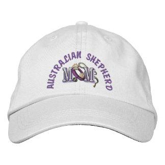 Australian Shepherd Dog Mom Embroidered Hat