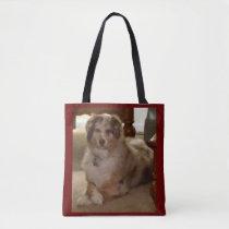 AUSTRALIAN SHEPHERD Dog Pet Breed Shoulder Tote Bag