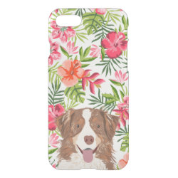 Uncommon iPhone 7 Clearly™ Deflector Case with Australian Shepherd Phone Cases design