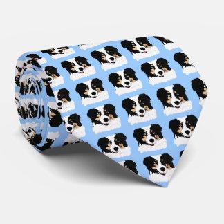 Australian Shepherd Double-sided Print Necktie