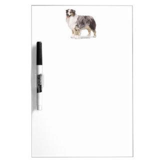 Australian Shepherd Dry Erase Board